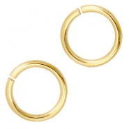 Buigringen DQ 8 mm DQ Gold plated duurzame plating