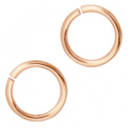 Buigringen DQ 6 mm DQ Rose Gold plated duurzame plating