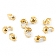 Kalotjes DQ 4 mm Gold plated