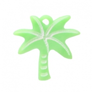 Hanger acryl palmboom Light green
