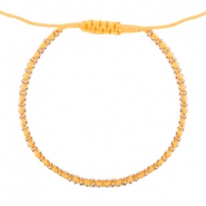 Ibiza look armbandje Vibrant orange-gold