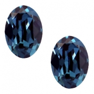 Swarovski Elements vormen divers 4120-14x10mm oval Montana blue