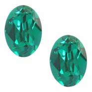 Swarovski Elements vormen divers 4120-14x10mm oval Emerald green
