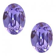 Swarovski Elements vormen divers 4120-14x10mm oval Tanzanite purple