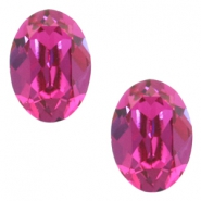 Swarovski Elements vormen divers 4120-14x10mm oval Fuchsia