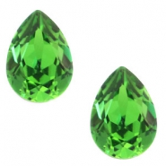 Swarovski Elements vormen divers 4320-14x10mm druppel Fern green