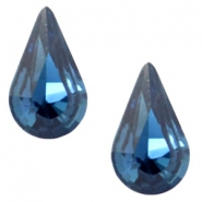 Swarovski Elements vormen divers 4328-10x6mm druppel Montana blue