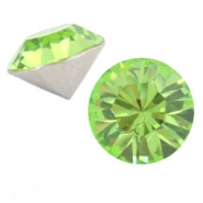 Swarovski Elements vormen divers puntsteen SS45 (10mm) Peridot green