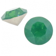 Swarovski Elements puntstenen SS 39 (8 mm) Palace green opal