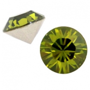 Swarovski Elements puntstenen SS 39 (8 mm) Olivine green