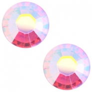 Swarovski Elements flat back SS 34 (7mm) Rose aurore boreale