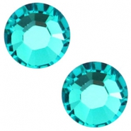 Swarovski Elements flat back SS30 (6.4mm) Blue zircon