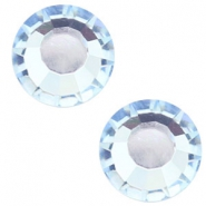 Swarovski Elements flat back SS30 (6.4mm) Light sapphire