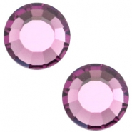 Swarovski Elements flat back SS30 (6.4mm) Amethyst purple