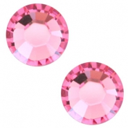 Swarovski Elements flat back SS30 (6.4mm) Rose