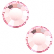 Swarovski Elements flat back SS30 (6.4mm) Light rose