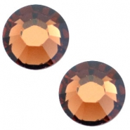 Swarovski Elements flat back SS20 (4.7mm) Smoked topaz