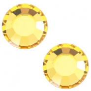 Swarovski Elements flat back SS20 (4.7mm) Light topaz yellow
