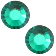Swarovski Elements flat back SS20 (4.7mm) Emerald green