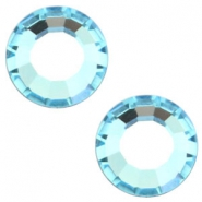 Swarovski Elements vormen divers SS16 flat back (3.9mm) Aquamarine blue