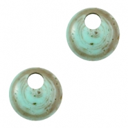 Acryl DQ Polaris hangers 16mm rond Turquoise