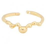 Trendy ringen dots Gold