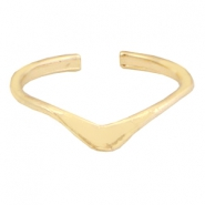 "Trendy ringen ""v"" shape Gold"
