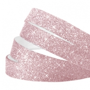 Tape van Crystal Glitter 10mm Lilac pink