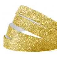 Tape van Crystal Glitter 10mm Gold