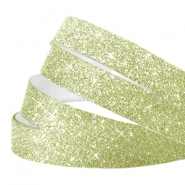 Tape van Crystal Glitter 10mm Light green