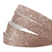 Tape van Crystal Glitter 5mm Light brown