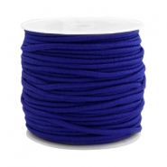 Gekleurd elastiek 2.5mm Cobalt blue