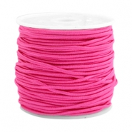 Gekleurd elastiek 1.5mm Light fuchsia pink