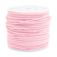 Gekleurd elastiek 1.5mm Light rose