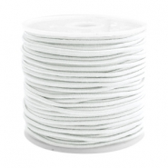 Gekleurd elastiek 1.5mm White