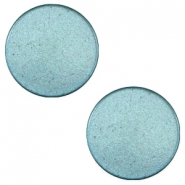12 mm platte Super Polaris cabochon Dark sea blue