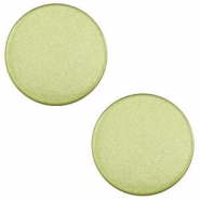 12 mm platte Super Polaris cabochon Salvia green