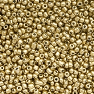 Rocailles 12/0 (2mm) Gold