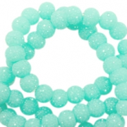 Sparkle beads 6mm Turquoise