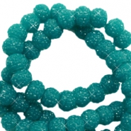 Sparkle beads 6mm Glacier green