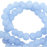 Sparkle beads 6mm Fresh blue