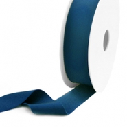 Elastisch Ibiza lint 25mm Teal blue