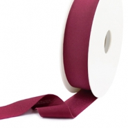 Elastisch Ibiza lint 25mm Velvet purple
