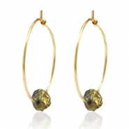 Musthave Oorbellen stone Gold