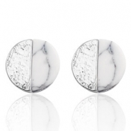 Musthave Oorbellen studs studs circle Silver