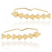 Musthave Oorbellen triangles Gold