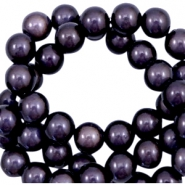 3D Miracle kralen 6mm Dark lilac purple