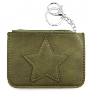 Hippe portemonnees Army green