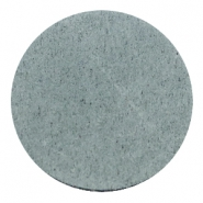 Cabochons DQ leer 35mm Grey