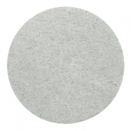 Cabochons DQ leer 35mm Light grey